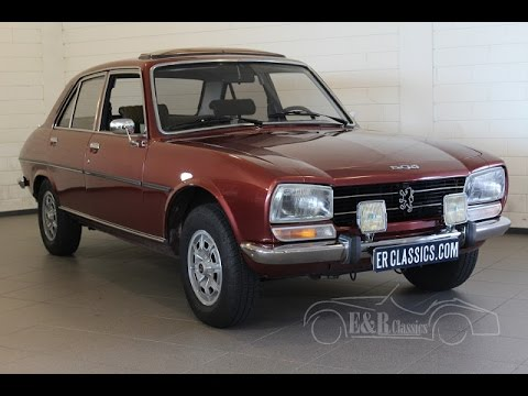 peugeot 504 1978 part restored very good condition orig 110300km