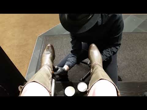 Best shoe shine, Denver, POV, ASMR