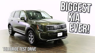 Meet KIA's Telluride!  Test Drive and Full Review