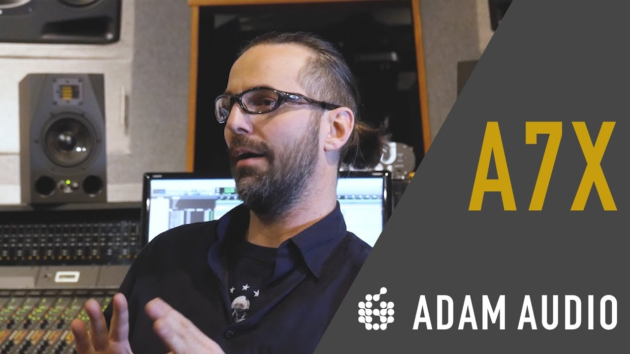 Grammy Winning Engineer Marc Urselli Sits Down with ADAM Audio to talk A7X's
