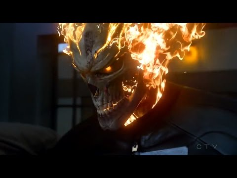Ghost Rider (Robbie Reyes) Kills a Prisoner - Marvel's Agents of S.H.I.E.L.D.