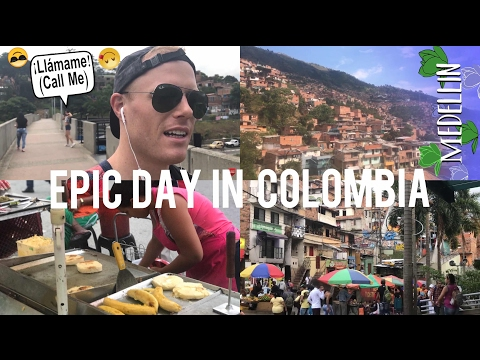 THE BEST MEDELLIN VLOG EVER?🚡🇨🇴COLOMBIAN GIRLS, STREET FOOD, INSANE METROCABLE TOUR VIEW!!🇨🇴