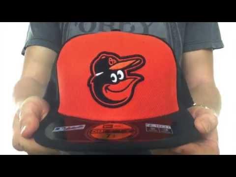 Orioles  MLB DIAMOND ERA  59FIFTY Orange Black BP Hat by New Era ... 1d2a8b213c7