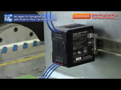 Push-In Plus Terminal - Vibration resistance