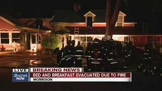 Fire breaks out at Horton House bed and breakfast in historic Morrison home