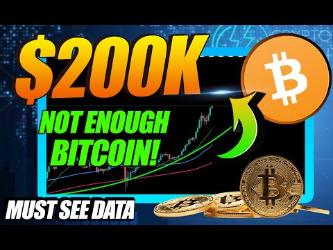 MY $200,000 BITCOIN PRICE PREDICTION (THERE IS NOT ENOUGH BITCOIN)