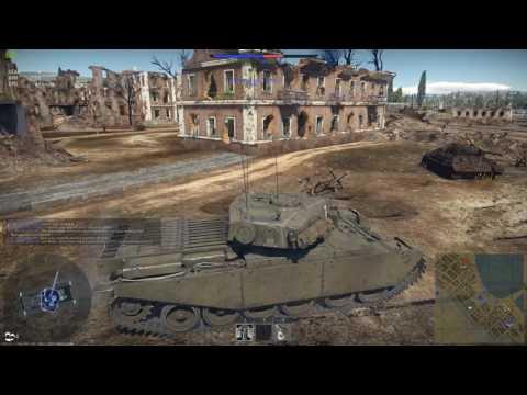 War Thunder Centurion Mk 1 on Port of Novorossiysk - Realistic Battles
