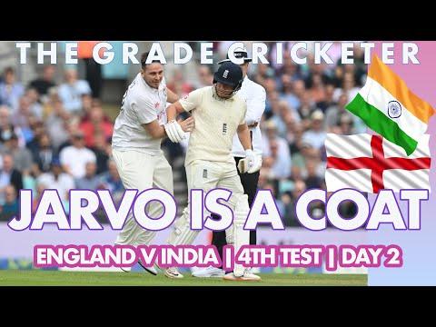 ENG v IND   4th Test, Day 2   Jarvo is a COAT