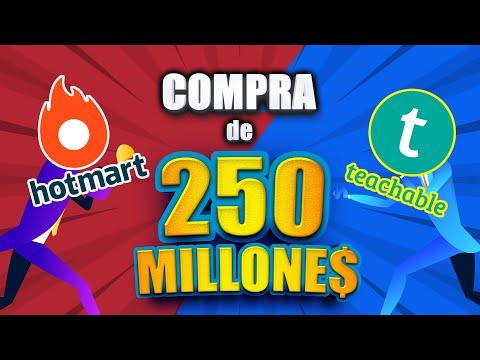 💸 Hotmart compra Teachable por 250 MILLONES de DÓLARES | EUGE OLLER