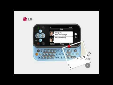 LG KS360 Promo Video