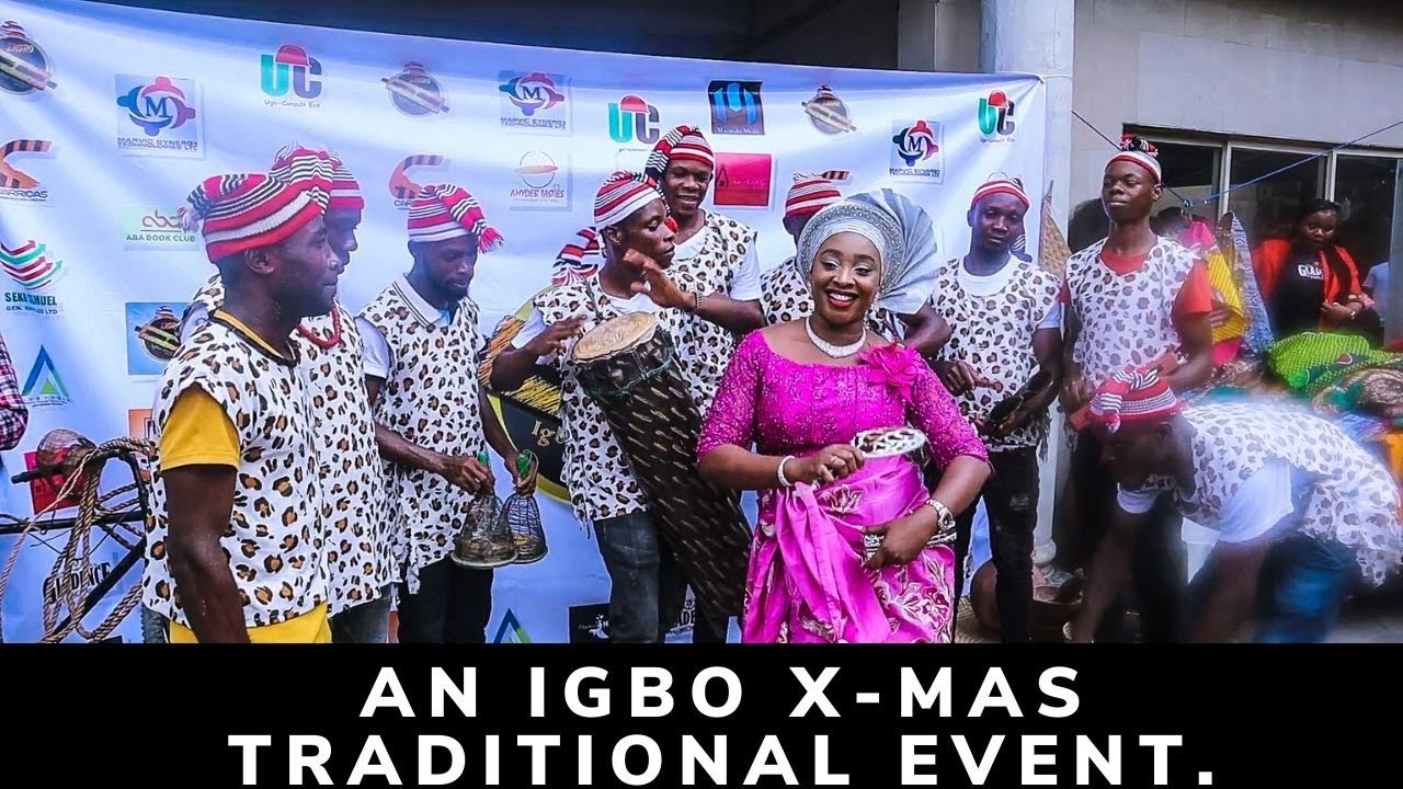 A TYPICAL IGBO EVENT IN  NIGERIA....Dear Diasporians,uld want to come back home after watching..