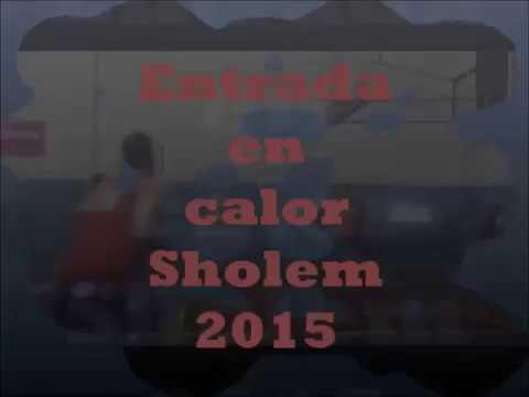 Entrada en calor Basquet SHOLEM 2015