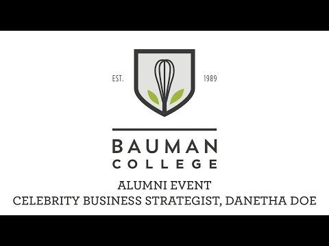 Bauman College Alumni Event: Danetha Doe