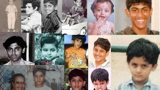 Tollywood heros childhood photos - Telugu film heros