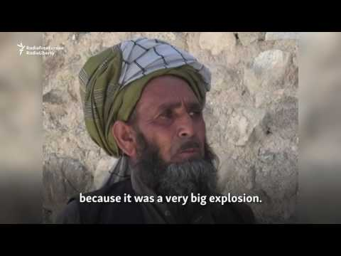 Afghans React To 'Horrific Bomb' In Nangarhar Province