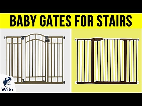 10 Best Baby Gates For Stairs 2019