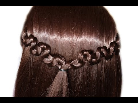 Spit three strands interesting execution ★ Very fast hairstyle for long and medium hair ★ Trendy hai thumbnail