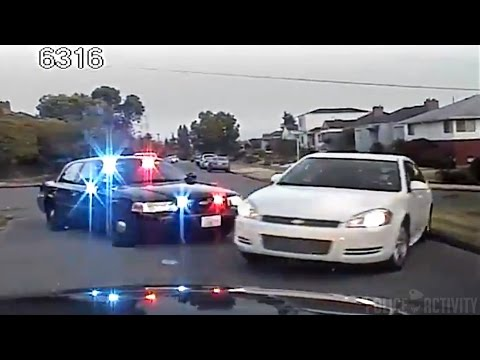 Dashcam Video Shows Seattle Police Chase Fail