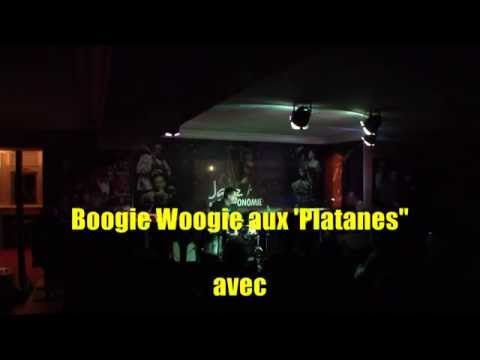 """"""" Boogie Woogie aux Platanes """" avec C.S.Leyland et J-P Bertrand"""