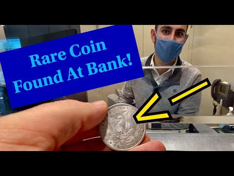 Mega Rare Silver Coin Found At The Bank!