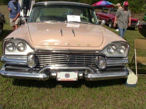 1958 Dodge Custom Royal Four Door Sedan Beige Woodlawn110815