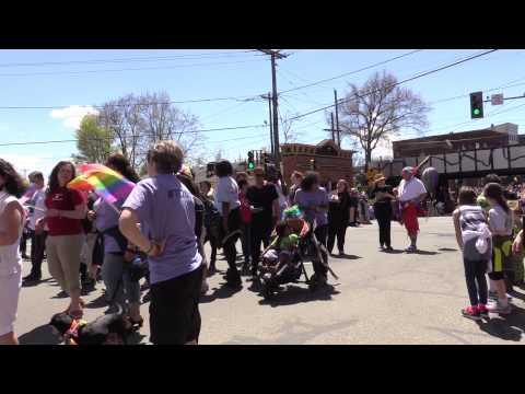 Gay Pride Parade Northampton, Massachusetts 2015