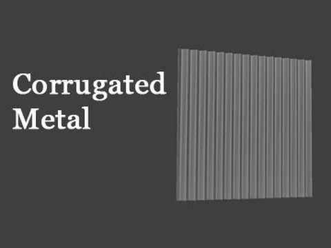 Game Assets Corrugated Metal And Reducing The Level Of