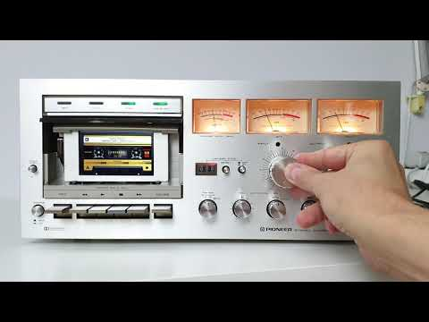 Pioneer CT-F700 As MP3/FLAC Player - Tapeless Deck Project