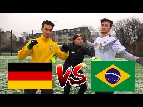 DEUTSCHLAND (KROOS) vs BRASILIEN (NEYMAR) CHALLENGE | BROTATOS