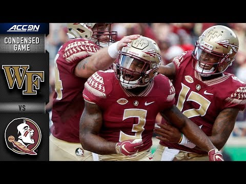 Wake Forest vs. Florida State Condensed Game | 2018 ACC Football