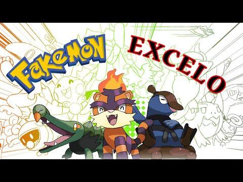 Pokemon Excelo Region ● Fakemon ● Fanart ● Design By Dragonith