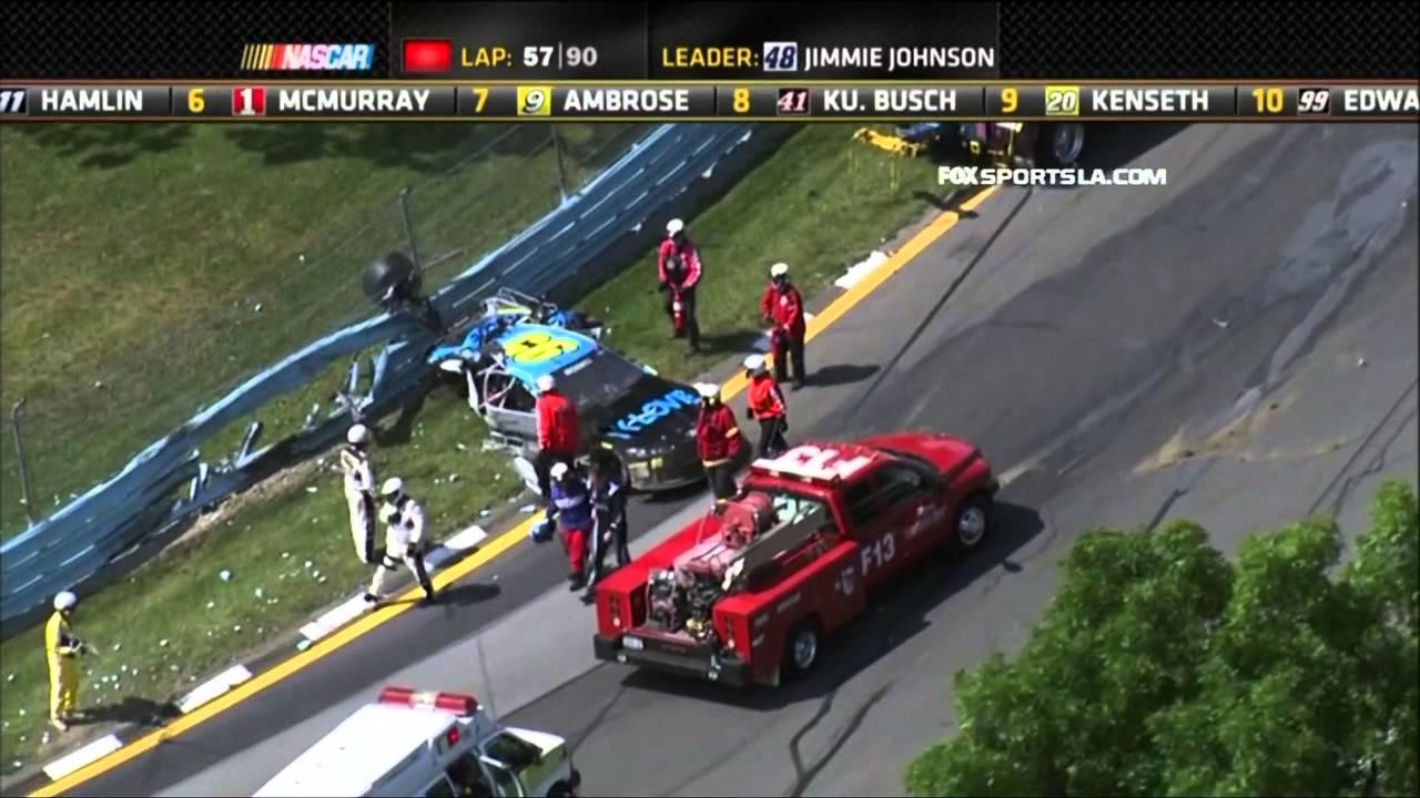 Accidente de Ryan Newman y Michael McDowell en Watkins Glen