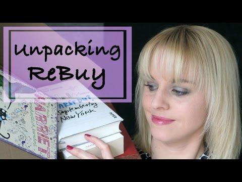 ReBuy Unpacking - 7 Bücher - 61 EUR gespart