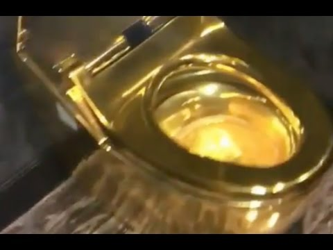 24k gold toilet paper. Birdman Shows His  2M Golden Toilet To Lil Wayne s Replacement YouTube