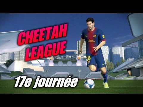 Cheetah League 17e journée Gerard vs Azdoune