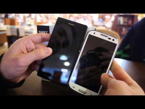 Sony Xperia Z vs. Samsung Galaxy S3 Smartphones Comparison