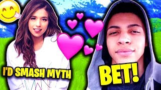 POKIMANE ANSWERS MYTH SMASH OR PASS! Fortnite EPIC & FUNNY Moments