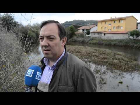 DECLARACIONES  ALCALDE ALEJANDRO VEGA  EN LA LIMPIEZA DEL RIO LINARES VILLAVICIOSA SEPTIEMBRE 2015 1