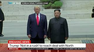 Trump in North Korea: Interview with Graham Ong-Webb