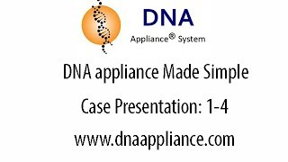 DNA appliance Made Simple: Case Presentation 1 to 4