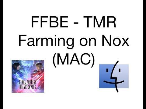 Ffbe Best Tmr 2020 FFBE   How to TM Macro on Nox (MAC)   YouTube