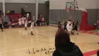 Olivet College game-winning basket vs. Saint Mary