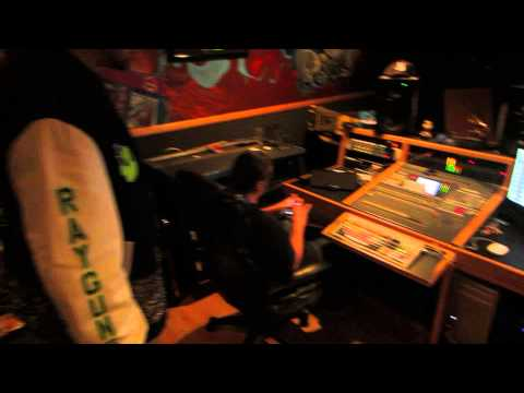 King Keil mit Cypress Hill im Studio