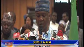 SARAKI ACCUSES EXECUTIVE OF LATE TRANSMISSION OF INEC'S ELECTION BUDGET