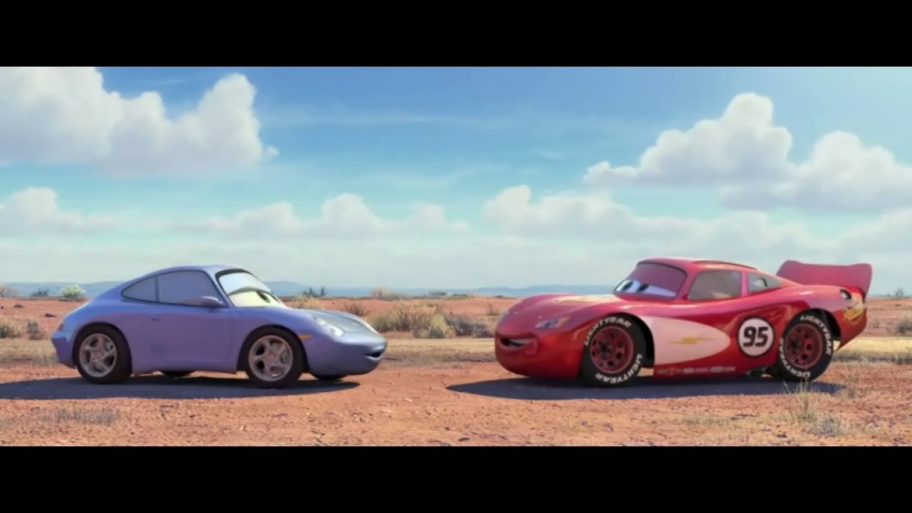 Cars Sally And Lightning Mcqueen Other Side Youtube
