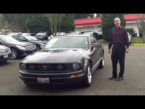 2007 Ford Mustang review - In 3 minutes you'll be an expert on the Mustang V6