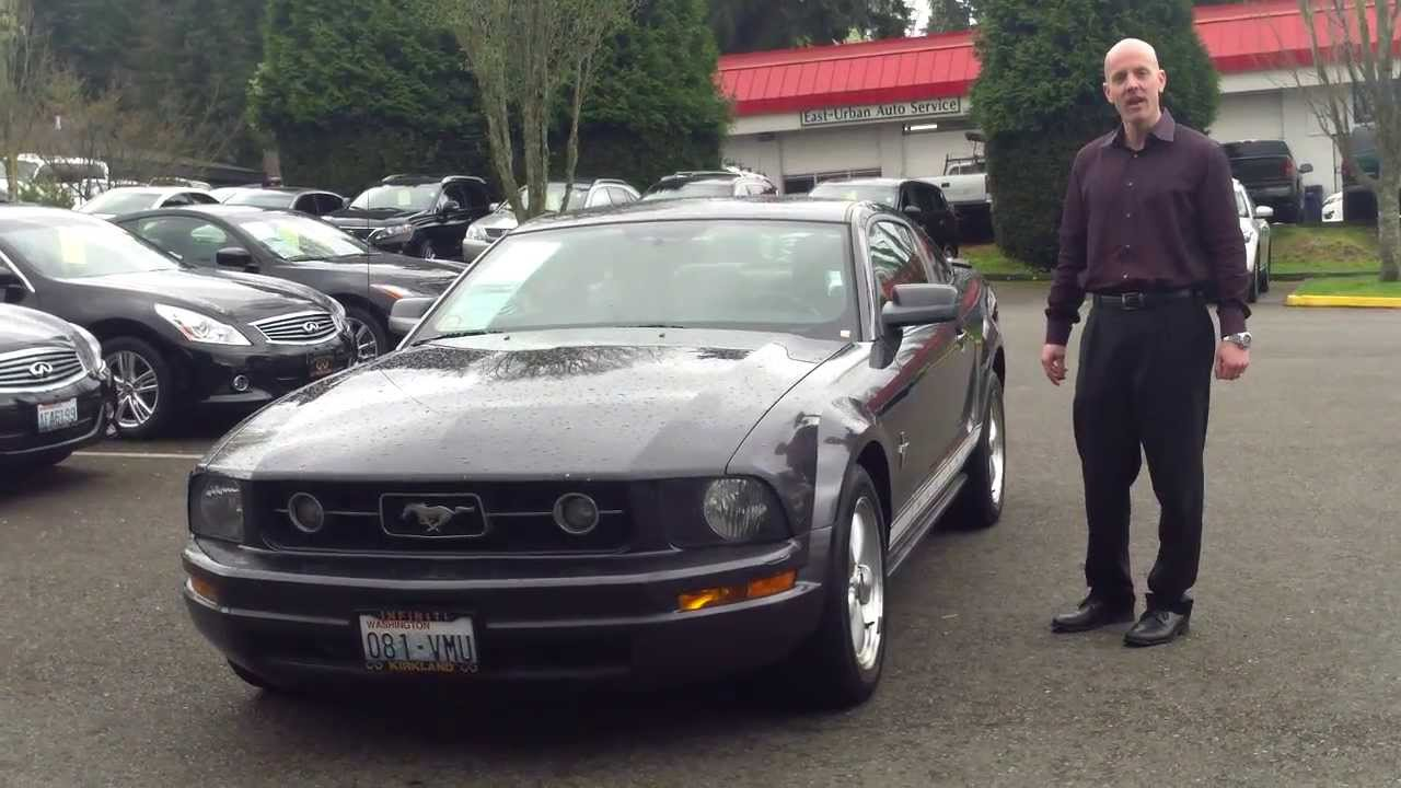 Review why a 2007 ford mustang under 7000 is money very well spent