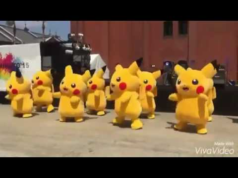 Pikachu dance Just Right - GOT7