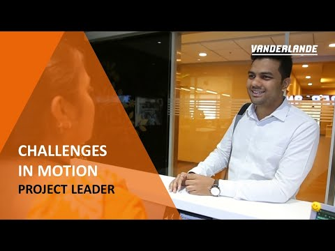 Working as a Project Leader at Vanderlande