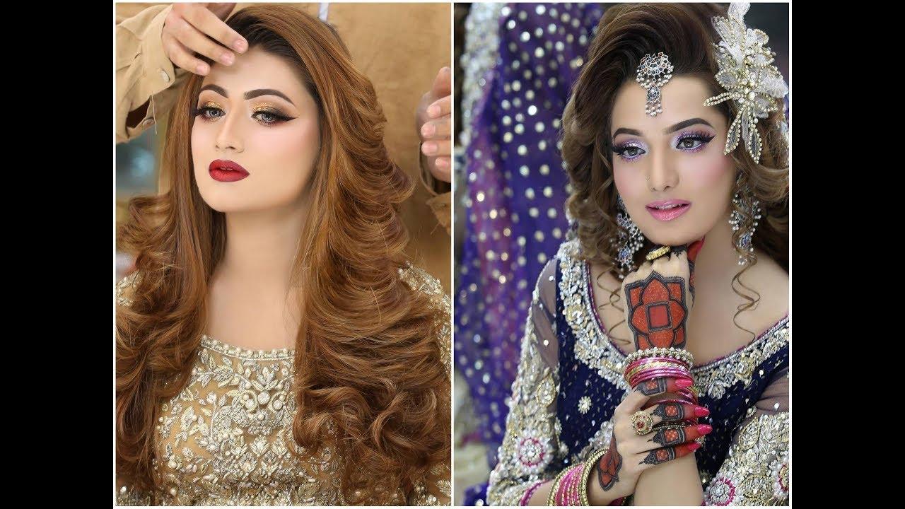 beautiful bridal mehndi design new bridal makeup dress hairstyle new for lehengas